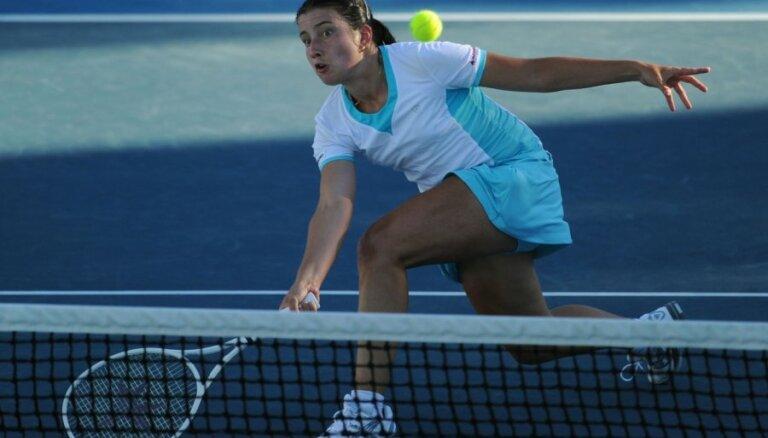 Sevastovai gada pirmajā WTA rangā kāpums par piecām pozīcijām