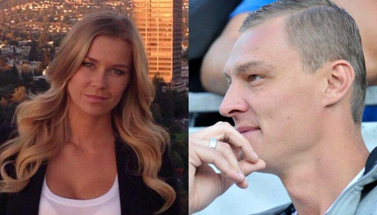 Basketbolista Biedriņa sieva Madara: 'Man negribējās precēties'