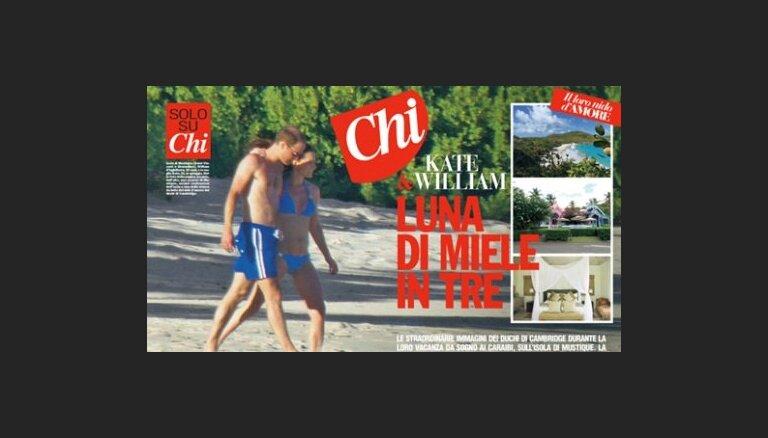 Итальянский журнал публикует фото беременной Кейт