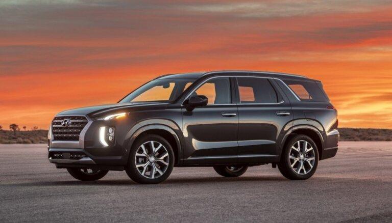 'Hyundai' prezentējis savu vislielāko apvidnieku 'Palisade'