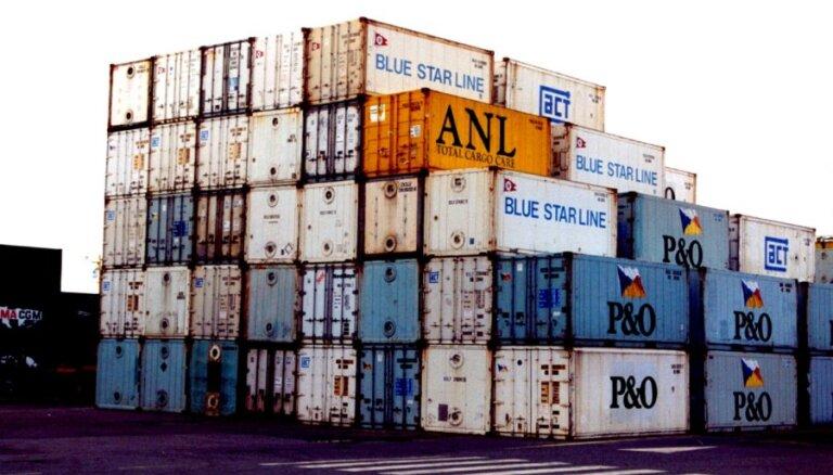 Latvijas preču eksports četros mēnešos audzis par 9%; imports – par 7%