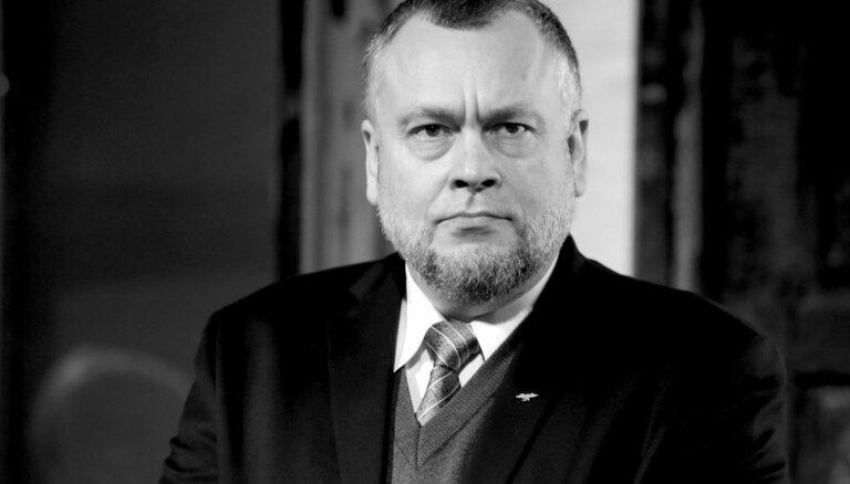 После заражения Covid-19 умер экс-глава Центральной избирательной комиссии Арнис Цимдарс