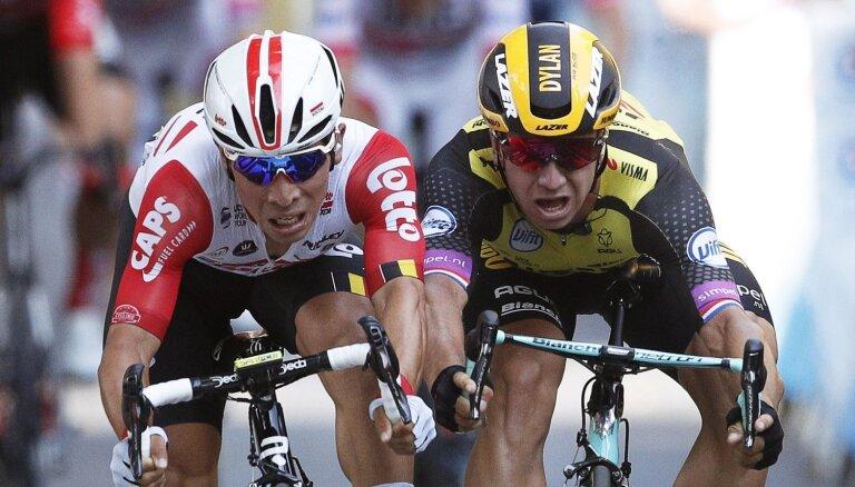 Evans uzvar 'Tour de France' posmā; Skujiņam 124. vieta