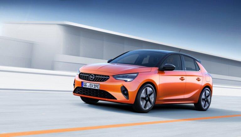 'Opel' parādījis jauno 'Corsa' modeli elektriskajā versijā