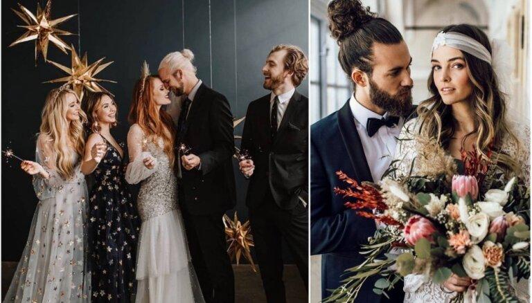 Negaidīti pārsteigumi, izteiksmīgums un funkcionalitāte – svaigas dvesmas kāzu rīkošanā