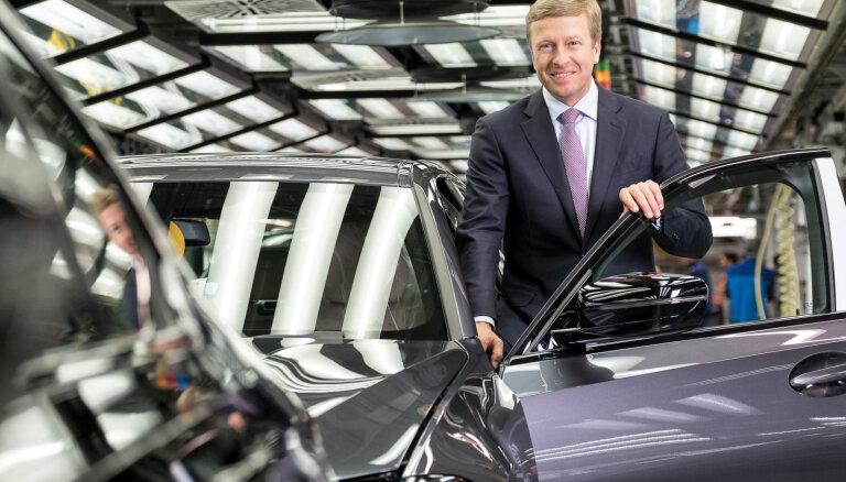 BMW kompānijai nomainīts vadītājs