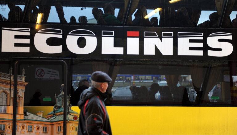 Автобус Санкт-Петербург — Таллин съехал в кювет, пострадали граждане Латвии