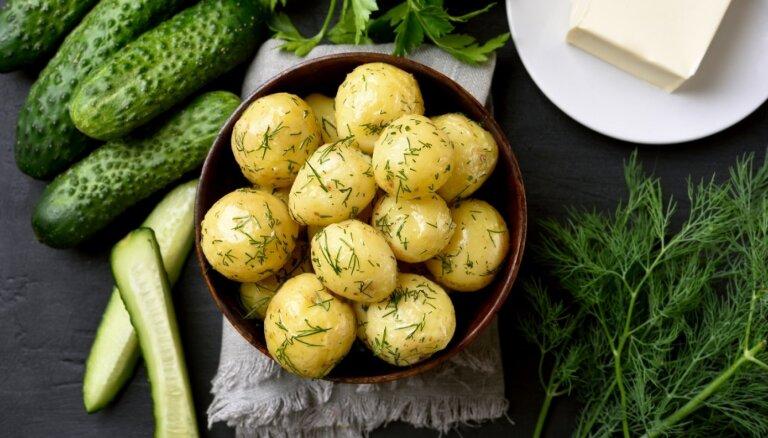 Baudām jauno kartupeļu laika garšas - 14 receptes vasaras svinēšanai