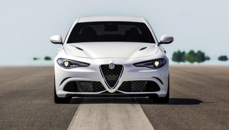 'Alfa Romeo' tomēr atteikusies no 'Giulia' universāļa izlaides
