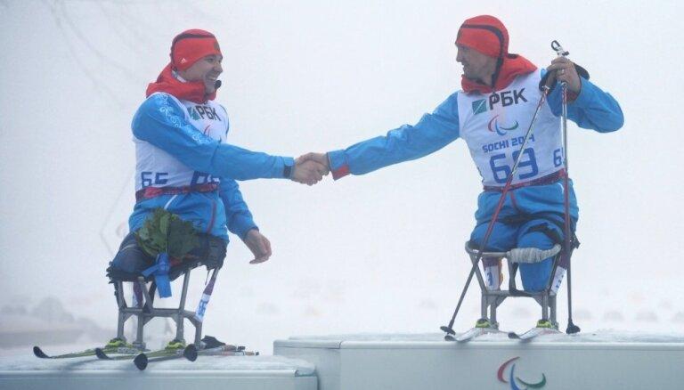 Starptautiskā Paralimpiskā komiteja arī pirms Phjončhanas neatceļ Krievijas diskvalifikāciju