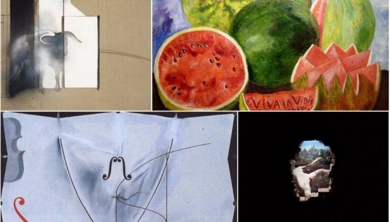 Gulbja dziesmas jeb Sešu slavenu mākslinieku mūža pēdējie darbi
