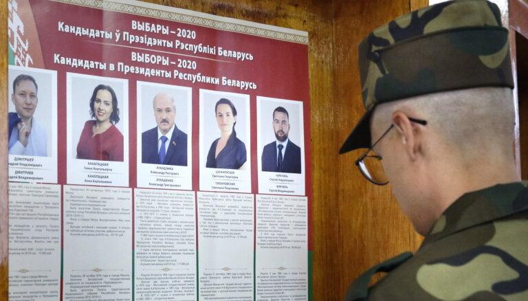 Выборы президента Беларуси: на рижском участке явка составила 91%
