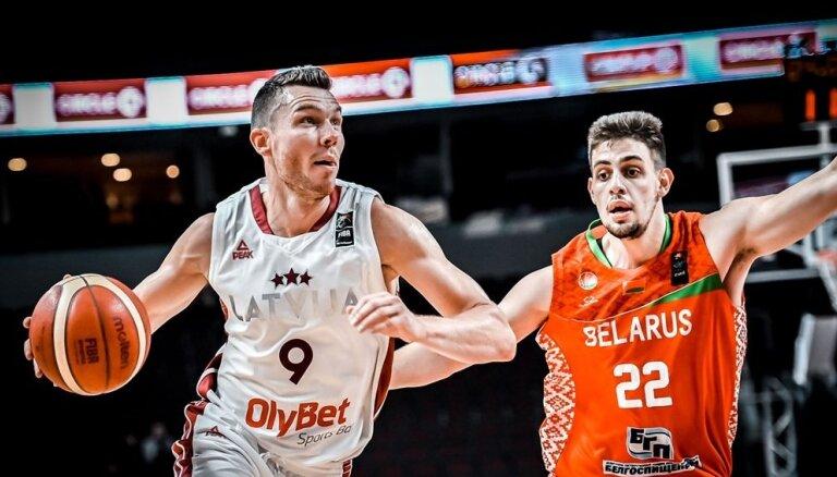 Сборная Латвии по баскетболу обыграла Беларусь в отборочном турнире ЧМ-2023
