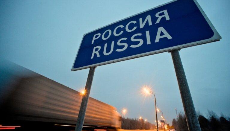 КПП на латвийско-российской границе работает на пределе своих возможностей