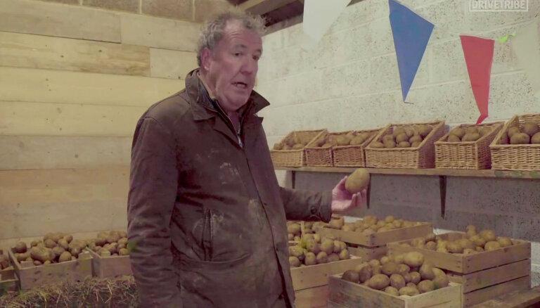 Klārksona dārzeņu veikaliņš slēgts – 10 tonnas kartupeļu izdalīs pensionāriem