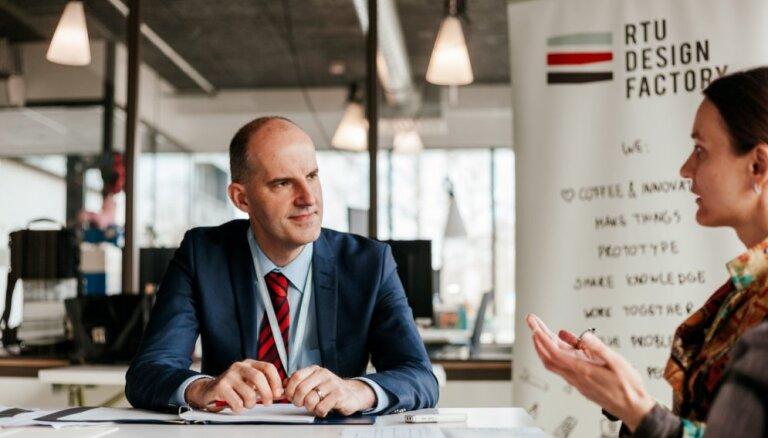 'Delfi' intervija: Inovatīviem produktiem jābūt lētākiem, ātrākiem un labākiem