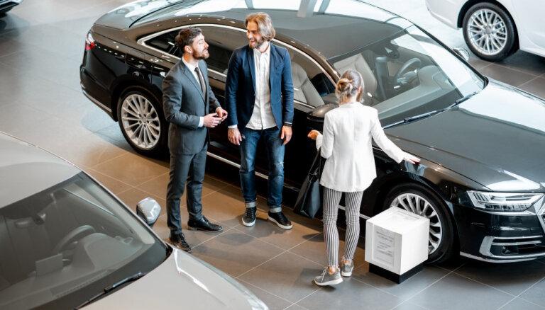 Pirmreizējā reģistrācija divos mēnešos Latvijā veikta par 1,6% vairāk vieglo auto