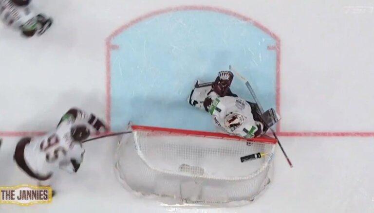 Video: Kanādas sporta raidījumā tiek apcelts hokejists Oskars Batņa