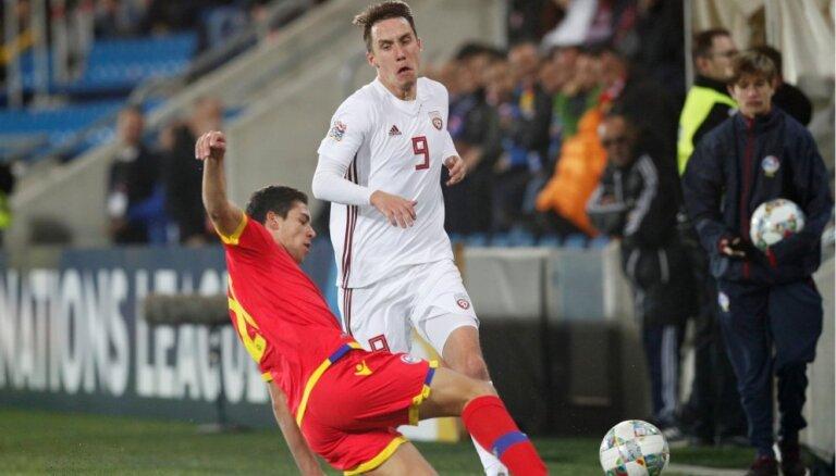 Dāvis Ikaunieks nosaukts par Latvijas gada labāko futbolistu