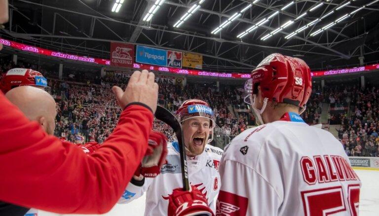 Galviņa 'Ocerlārži' zaudē ceturtajā spēlē, Čehijas finālsērijā rezultāts 2-2