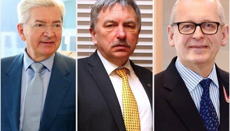 Ribickis, Pētersons un Muižnieks – pelnošākie valsts augstskolu vadītāji