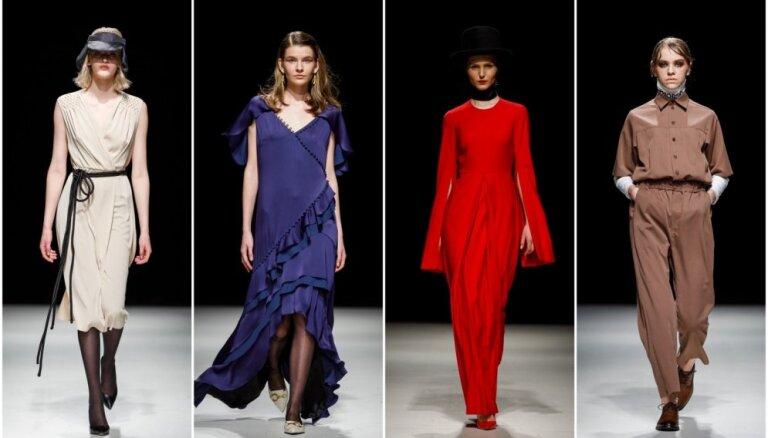 Rīgas modes nedēļas trešā diena: minimāla elegance un smalki materiāli