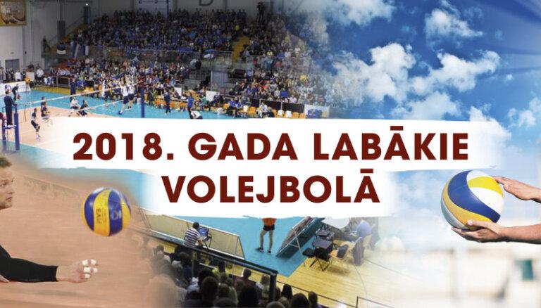 Sākas balsojums par 2018. gada labākajiem volejbolistiem