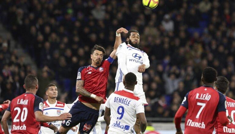 'Lille' tuvojas iekļūšanai Čempionu līgā