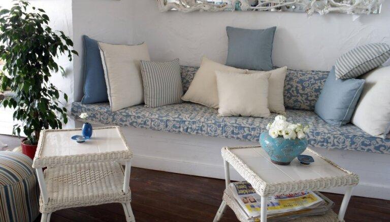 Interjera dilemma - mēbelēm pārblīvēta vai spartiska telpa
