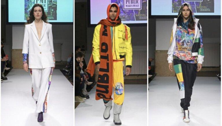 ФОТО. Латвийский бренд дебютировал на Миланской неделе моды