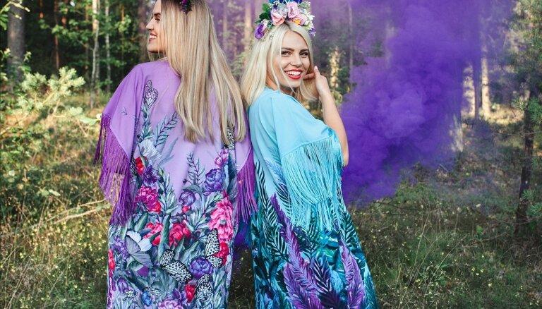 Pašmāju modes zīmols 'ZIB*' iepazīstina ar vasaras festivālu tērpu kolekciju