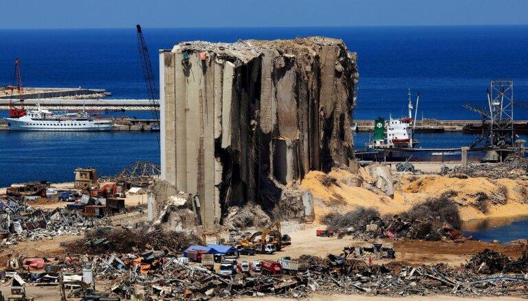 По делу о взрыве в порту Бейрута обвиняют экс-премьера Ливана