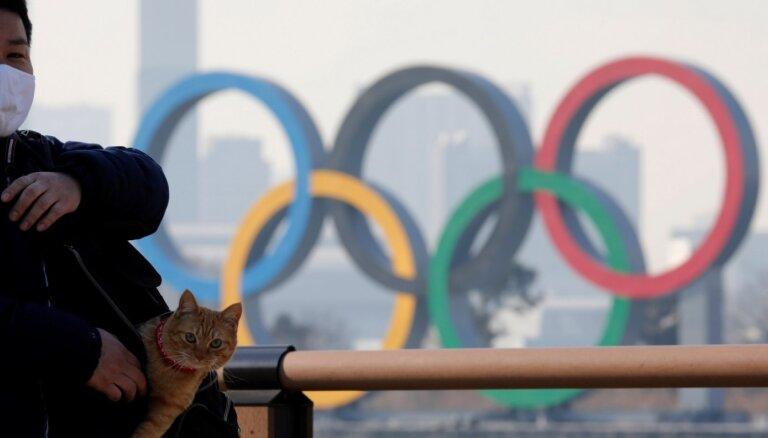 Medijs: Japānas valdība grasās atcelt Tokijas olimpiskās spēles