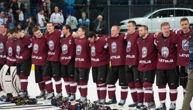Latvijas hokejisti uzzinājuši pretiniekus 2015.gada pasaules čempionātā
