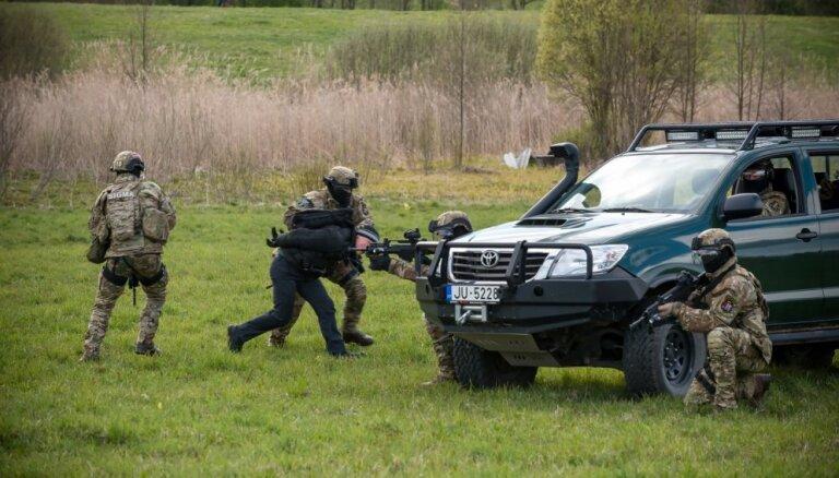 На латвийско-белорусской границе будут имитироваться массовые беспорядки