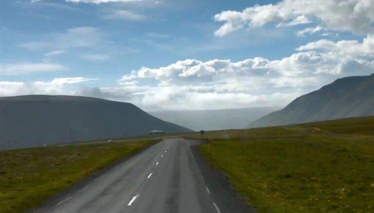 Noskaties! 'Sigur Rós' ceļojums apkārt Islandei nepilnās sešās minūtēs