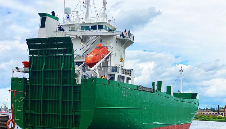 В Рижском порту начинает работу новая паромная линия 'Baltic Link'