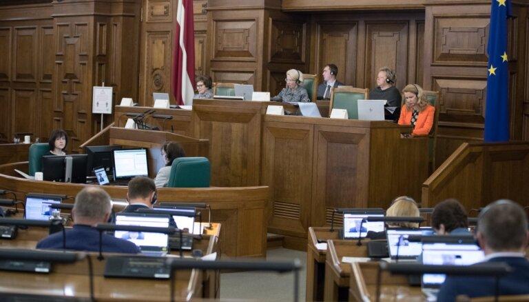Gatavi ārkārtējās situācijas atcelšanai – Saeima apstiprina nepieciešamo likumu paketi