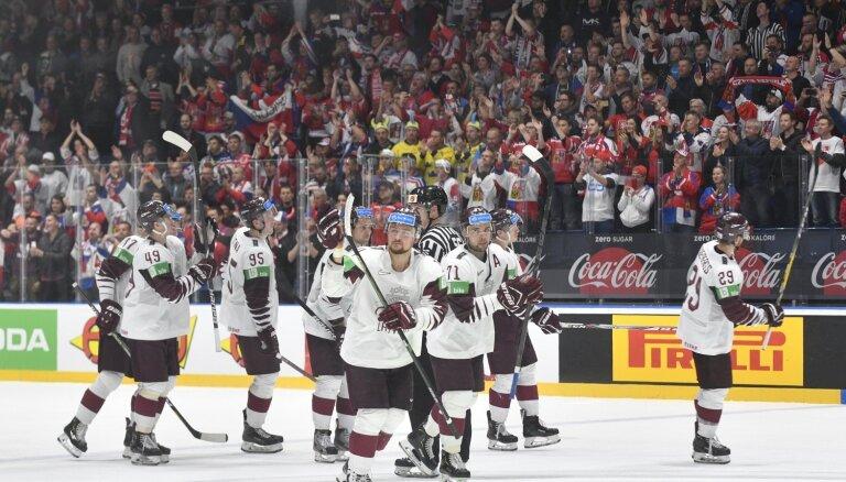 Latvijas izlasei pēcpusdienas cīņa pret gandrīz perfekto Krieviju