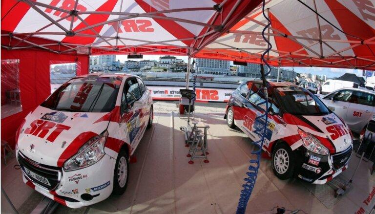 Abas Latvijas ekipāžas TOP10 junioru vērtējumā ERČ 'Kenotek Ypres Rally' iesākumā