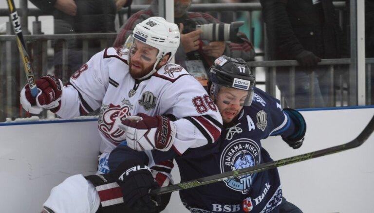 Rīgas 'Dinamo' nenosargā divu 'golu' pārsvaru un zaudē 'Winter Ice Break' spēlē