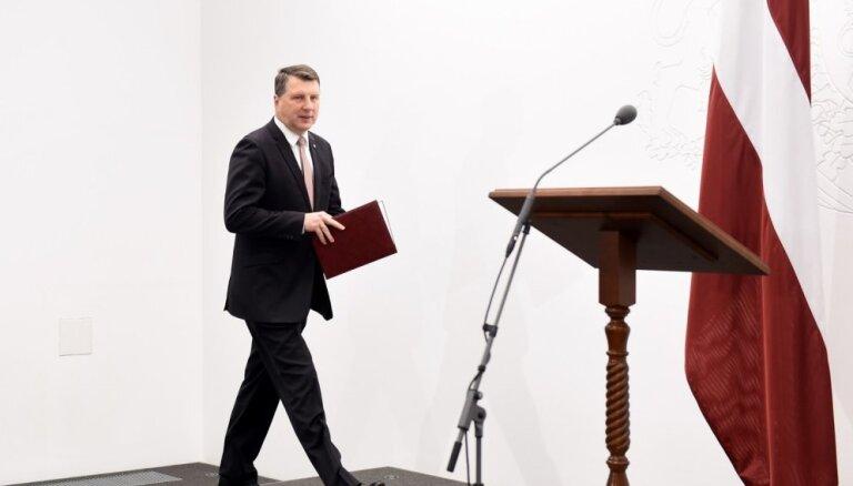 'KPV LV' izstāšanās no iespējamās Kariņa valdības būtu bezatbildīga, uzskata Vējonis