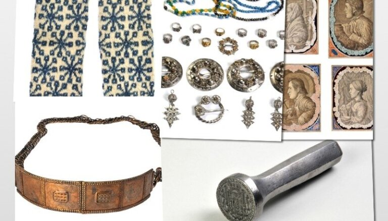 Latvijas vēstures relikvijas: zemnieku turības liecība un tradicionāla dāvana