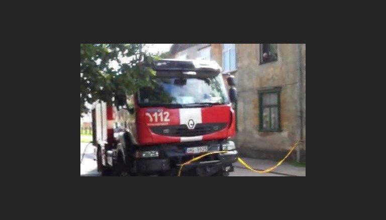 BMW avārija Jelgavā