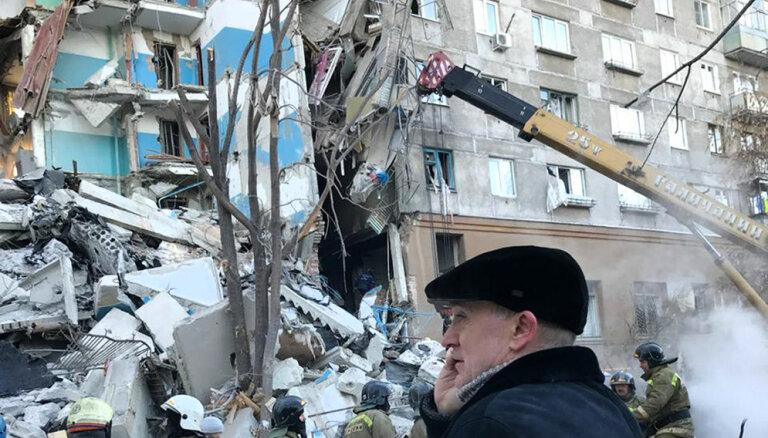 Путин потребовал расселить дом в Магнитогорске, где взорвался газ