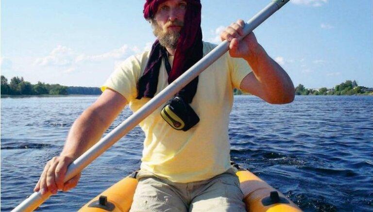 Sibīrijas piezīmes: latviešu ceļotājs viens dodas bīstamā braucienā pa Vitimas upi