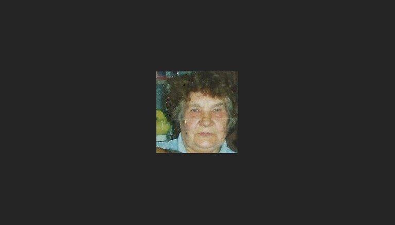 Полиция разыскивает пропавшую месяц назад пожилую женщину