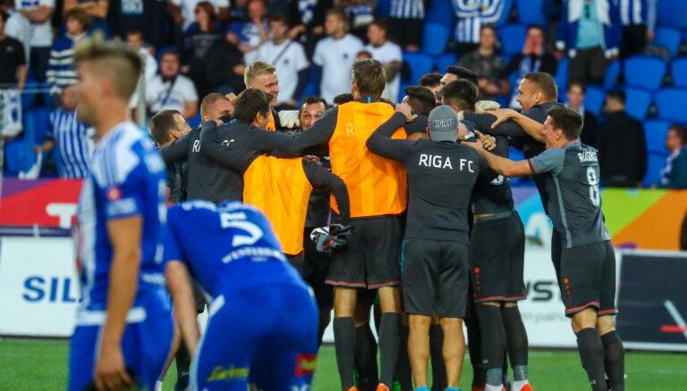 Latvijas futbola klubi uz varenākās eirokausu vasaras sliekšņa