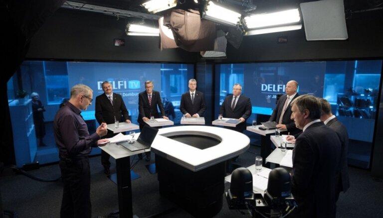 'Par ko balsot?' Kandidātu debates par Latvijas aizsardzību. Pilns ieraksts
