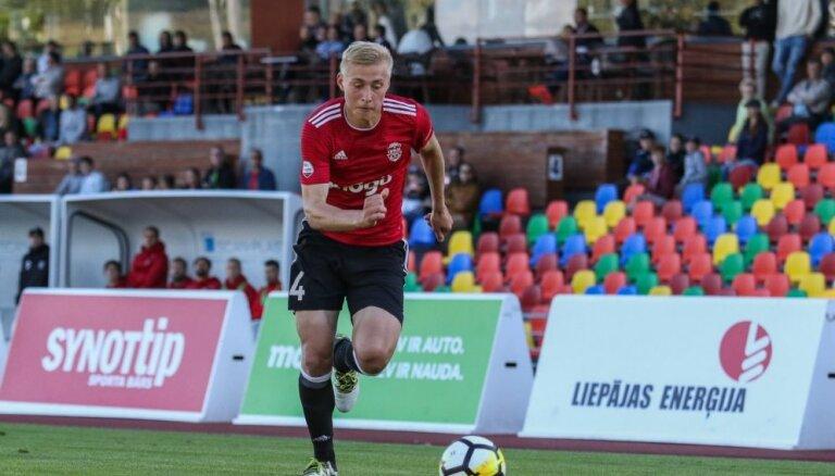Latvijas futbola izlases kandidātos iekļauts 18 gadus vecais Tobers
